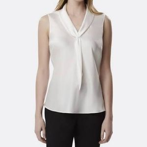 Tahari Women's Sailer-Tie Blouse
